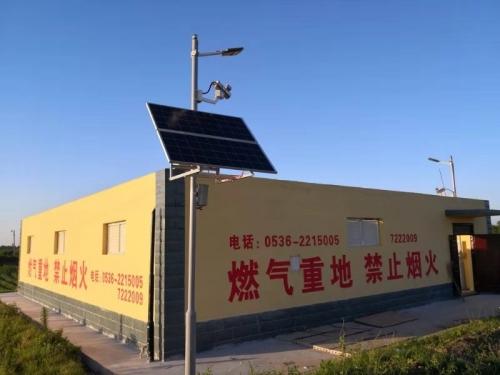 太阳能警示器