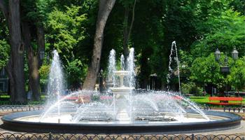 太阳能景观喷泉系统