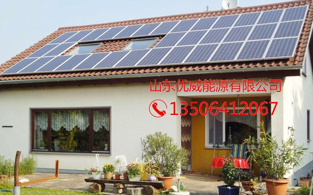 农村屋顶并网系统